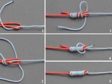 Связывание двух шнуров