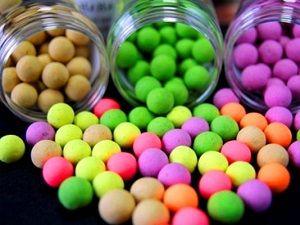 Разноцветные бойлы