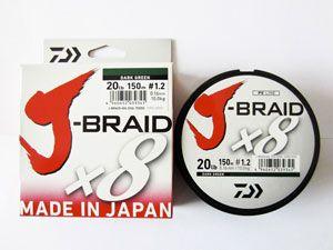 шнур Daiwa J-Braid