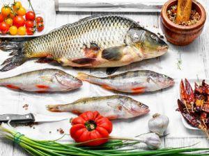 рыбины разных размеров