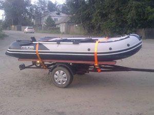 самодельный прицеп для лодки