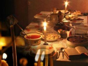 Постный ужин