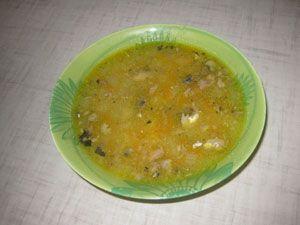 суп из консервов «Сайра»