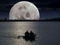 рыбалка в лунную ночь
