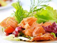 салат из красной рыбы