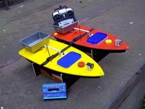 кораблики для прикормки рыбы